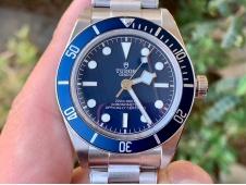 Replica Tudor Black Bay Fifty Eight 39mm ZF 1:1 Best Blue Dial on SS Bracelet A2824