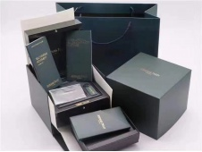 Audemars Piguet AP New Green Wooden Watch Box and Papers Original Style