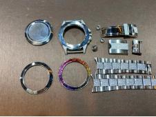 Custom Real Diamond Watch Sample 1