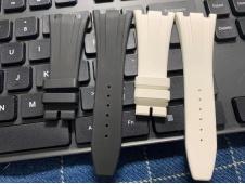 RBF 1:1 Best AP Black Rubber Strap For Royal Oak Offshore Chrono Models