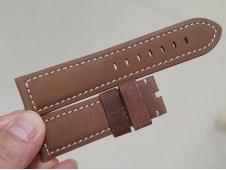 Panerai 22/26 Dark Brown Assolutamente Leather Strap