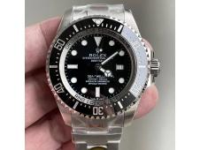 Replica Rolex Sea-Dweller Deepsea 126660 Black Dial Noob 1:1 Best 904L Steel A3235