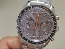 Replica OMEGA Speedmaster Moonwatch OMF 1:1 Best Gray Dial on SS Bracelet A9900
