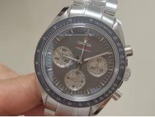 Replica OMEGA Speedmaster MoonWatch Sapphire Crystal Gray Dial Manual Winding Chrono Movement