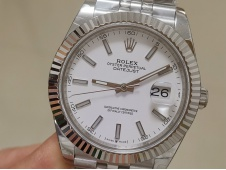 Replica Rolex DateJust 41mm 126334 BP Factory Best White Dial Jubilee Bracelet A2813