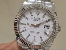 Replica Rolex DateJust 41mm 126334 BP Factory Best White Dial Jubilee Bracelet A3235