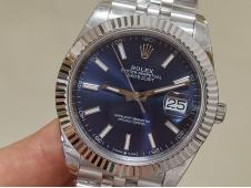 Replica Rolex DateJust 41mm 126334 BP Factory Best Blue Dial Jubilee Bracelet A2824