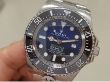 Replica Rolex Sea-Dweller Deepsea 126660 D-Blue James Cameron ARF 1:1 V3 Best 904L A2836