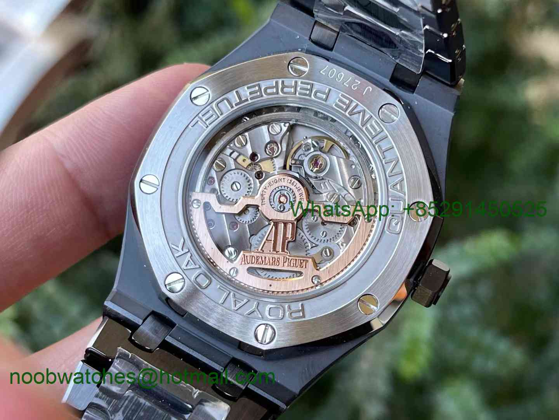 Replica Audemars Piguet AP Royal Oak Calendar 26579cb Black Ceramic APSF Best A5134