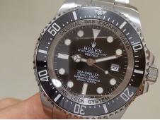Replica Rolex Sea-Dweller Deepsea 126660 ARF 1:1 Best 904L Black Dial SH3135 V3