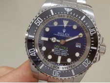 Replica Rolex Sea-Dweller Deepsea 126660 D-Blue James Cameron ARF 1:1 V3 Best 904L SH3135