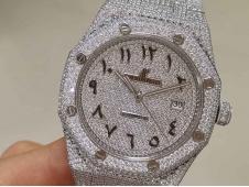 Replica Audemars Piguet AP Royal Oak 41mm 15400 All Diamond Ice Out A3120