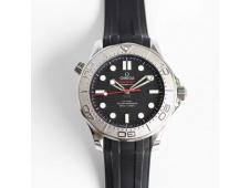 Replica OMEGA Seamaster Diver 300M Nekton ORF 1:1 Best Black Dial on Rubber Strap A8806