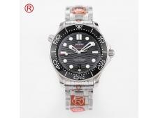 Replica OMEGA Seamaster Diver 300M ORF 1:1 Best Black Dial A8800